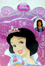 Disney Princess SNOW WHITE Girls Dress Up Fancy Wig Pretend Play NEW