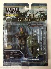 WWII Paratrooper US 101st AB Mohawk w/ Thompson Sgt Mahoney 1/18th Scale Figure