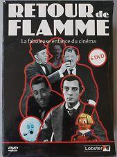 Coffret Retour de Flamme Harold Lloyd, Stan Laurel, Charles Chaplin, 6 DVD