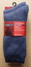 M&S Man 2 Pairs Thermal Max Warmth Ultraheat Crew Socks size 12.5-14.5