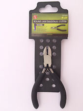 "4.5"" Round Jaw Cutters, Professional Jeweler's Mini Pliers SE #LF06R"