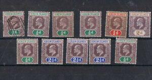VIRGIN ISLANDS - Lot of old stamps