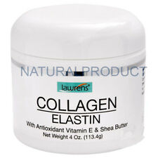 COLLAGEN ELASTIN, VITAMIN E CREAM 4 Oz COLAGENO ELASTINA SKIN CARE ANTIOXIDANT