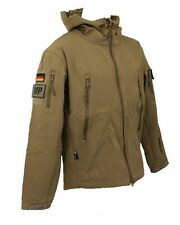 Tactical Softshell Jacke Herren coyote Gr S Bundeswehr Outdoor Windstopper KSK