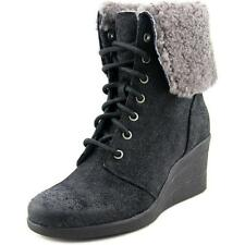 UGG Australia Wedge 100% Leather Upper Boots for Women