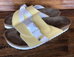 Womens Papillio Birkenstock Slide Sandals Size EU 38 US 7