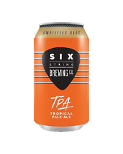 Six String Tropical Pale Ale Cans 375mL case of 24 Craft Beer