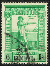 Scott # 442 - 1938 - Vasco de Gama
