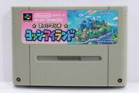 Yoshi Island Super Mario World 2 SFC Nintendo Super Famicom SNES Japan Import B