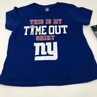 NFL New York Giants Baby Infant Toddler T-shirt Size 3T