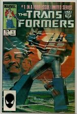 TRANSFORMERS #1 KEY 1st Appearance CLASSIC Copper Age Marvel NM- (9.2)