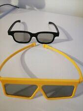 2 Passive 3D Glasses