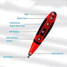 Multifunction Digtal Electrical Voltage Tester Pen AC Tester with LED Light