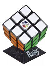 Rubik's Speed Puzzle Cube Original Rubix Magic Game 3x3x3 With Cube Stand Black