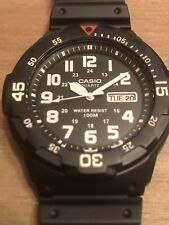 Casio MRW200HBVES Divers Watch 100M Water Resistant Tough Rotating Bezel