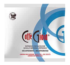 Caffè Gioia ESE Coffee Pods Decaffeinated (100 Pods/Cialde)
