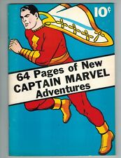 Flashback 10 reprinting Captain Marvel Adventures #1 (SHAZAM!) 1974 B&W Issue