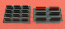 Uniden Bearcat BC147XLT Police Scanner REPAIR PART - Rubber Button Panels (both)