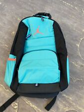 NEW Nike Jordan Backpack Retro Hot Lava Turquoise Laptop Bag 9A1640-EEA (Miami)