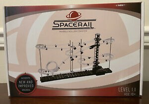 NIB SPACERAIL Level 1.1, COOL GLOW IN THE DARK MARBLE ROLLER COASTER  AUTHENTIC