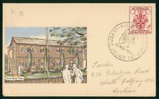 Mayfairstamps Australia 1956 Olympic Village Cycling Cancel Cover wwp979