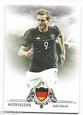 2016 Futera Unique Base Card (054) Andre SCHURRLE - Code is Unused