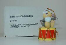 Disney Grolier DCO Thumper Christmas Ornament w/Box