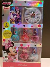 Disney Juniors Minnie Mouse Nail Art Collection Gift Box Set jewels polish file