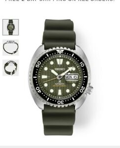 😍New Seiko Automatic Prospex King Turtle Divers 200M Men's Watch SRPE05👌