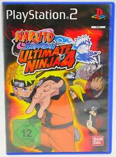 Naruto Shippuden: ULTIMATE Ninja 4 COMPLETA OVP SONY PLAYSTATION 2 ps2 molto bene