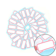 12sheet self adhesive sticky white label writable name sticker Blank label BarWG