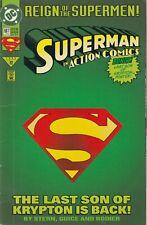 DC Action comics #687 Reign of the Supermen!