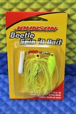 Johnson Beetle Spin 'R Bait Willow Blade BSBW1/16-CH 1293516