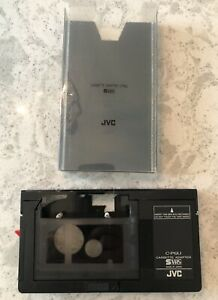 JVC C-P6U Cassette Adapter S-VHS - VHS-C to VHS - Made in Japan