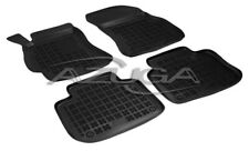 2013 4tlg. Velours schwarz Fußmatten passend für Subaru Legacy Kombi Bj