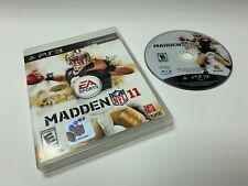 Madden NFL 11 PS3 PS3 Sony Playstation 3 w/ Case