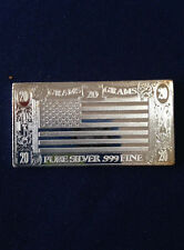 1973 The Silver Mint United States TSM-13 Silver Art Bar P1335
