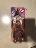 Britannia The Bear McDonalds Ty Beanie Baby Brand New Unopened In Box RARE