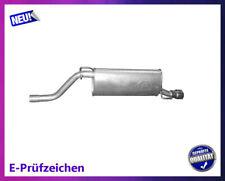 Endschalldämpfer Opel Corsa D E 1.4 55/64/66/74KW Auspuff Endtopf Chrom