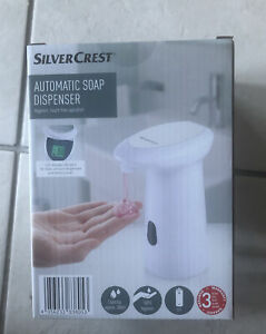 Silvercrest Automatic Soap Dispenser - LCD Display 280ml