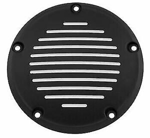 99-17 Harley-Davidson Big Twin Bikers Choice Groove Derby Cover, Black  302823
