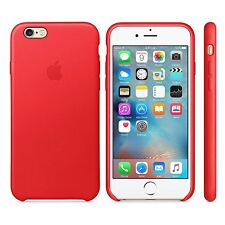 Apple Authentic Leather Case for Apple iPhone 6 Plus & 6s Plus - Leather Red