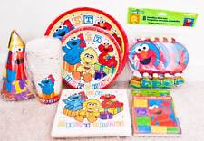 Sesame Street Elmo Big Bird Cookie Monster Party Favor Supply
