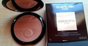 Guerlain The Nude Glow Powder Terracotta Nude , Neu &OVP 39,90