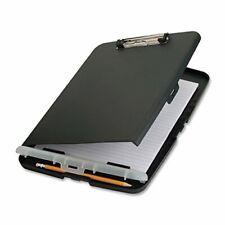 Clipboard Storage Case Box Aluminum Folder Document Organizer Compartment Office