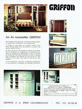 Publicité Advertising 028  1978   les lits escamotables  Griffon