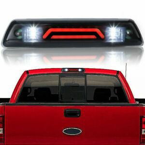 3RD THIRD BRAKE LIGHT LED SMOKE REAR REVERSE CARGO LAMP FOR 2009-2014 FORD F-150