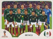 453 TEAM PHOTO EQUIPO EQUIPE MEXICO STICKER WORLD CUP RUSSIA 2018 PANINI