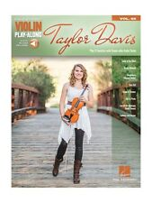 Violin Playalong Taylor Davis apprendre à jouer Film Themes Fiddle Music Livre Audio