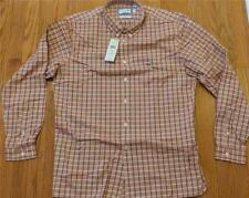 Mens Lacoste LS Stretch Checked Oxford Button Up Shirt Cevennes 45 XL/2XL $98